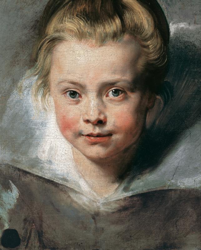 Питер Пауль Рубенс. Портрет Клары Серены Рубенс, дочери художника. Ок. 1616