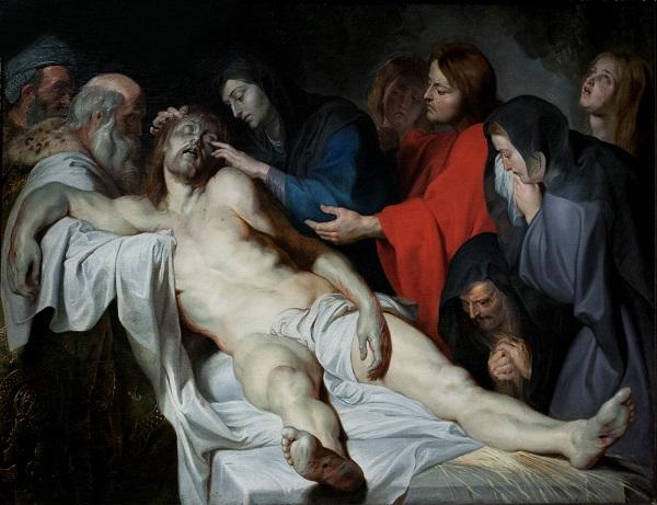 Питер Пауль Рубенс.Оплакивание Христа.1612