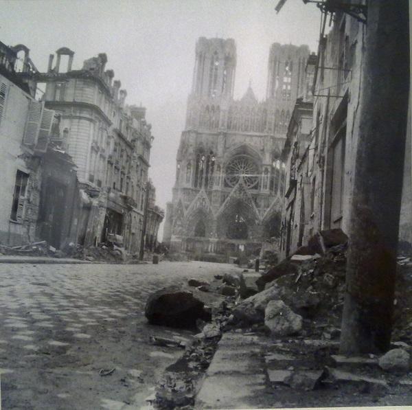 Собор в Реймсе. 1919