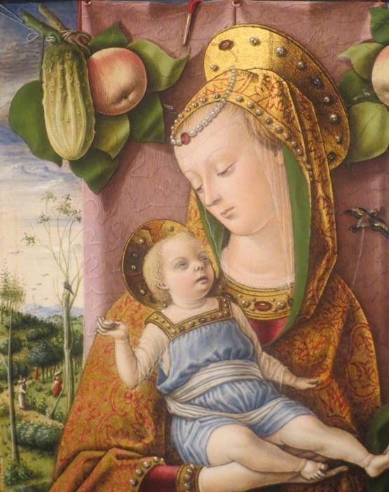 Карло Кривелли. Мадонна с Младенцем