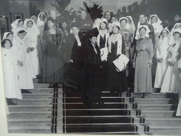 Официальное открытие англо-русского госпиталя по дворце Белосельских-Белозерских в Петрограде. 1 февраля 1916 года