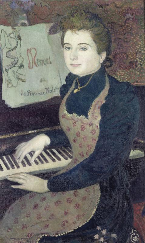 Морис Дени. Менуэт принцессы Мален. 1891. Музей Орсэ, Париж