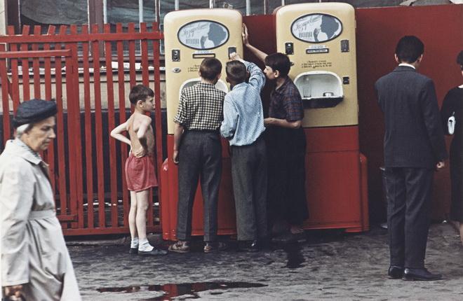Дмитрий Бальтерманц. Арбатская площадь. 1958.