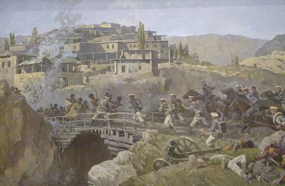 Авакимян О.А. Штурм аула Ахульго, 1839. 1993