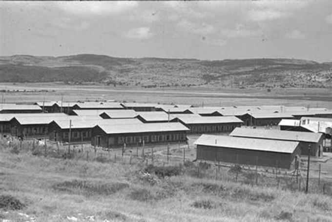 Израиль, концентрационный лагерь Махане маапилим