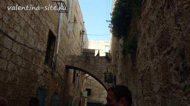 Израиль, внутренние улочки Акко