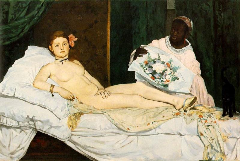 Олимпия. Эдуард Мане (1863)