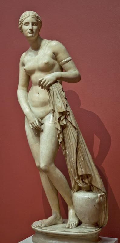 Афродита Книдская. Пракситель (копия римского времени с оригинала ок. 350 г. до н.э.)