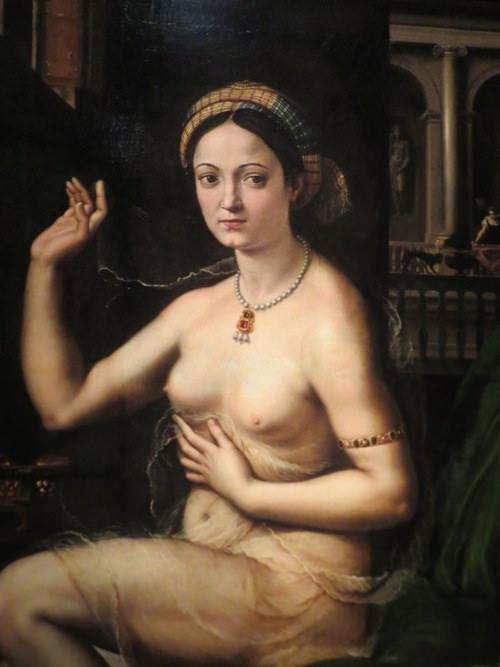 Дама за туалетом, или Форнарина. Джулио Пиппи (нач. 1520-х)